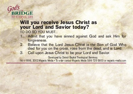 Will you receive the gift God offers today?