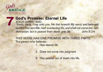 God's promise: eternal life
